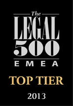 Legal500 top tier law firm in Latvia, Lithuania, Estonia